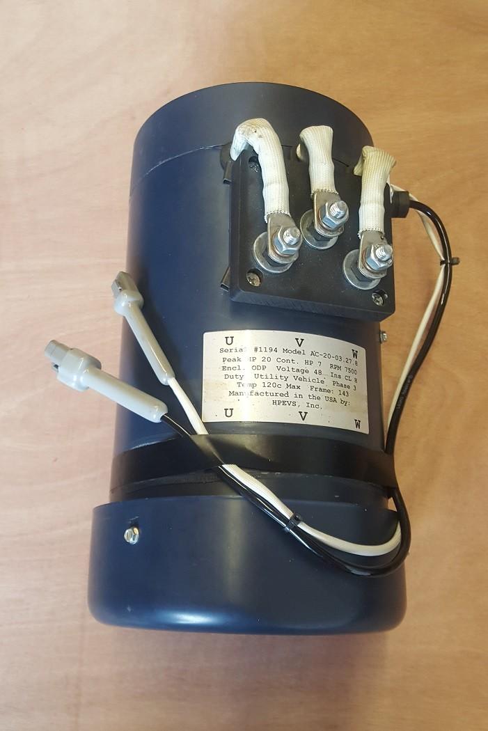 AC 20 Motor - 72V controller